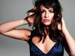 Lea Michele Cleavage Images wallpaper