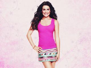 Lea Michele smile wallpapers wallpaper