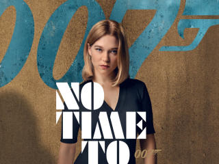 Lea Seydoux From No Time to Die Bond Movie wallpaper