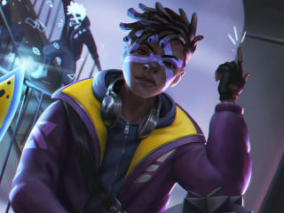 League of Legends 4K Ekko wallpaper