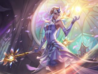 League Of Legends Magic Lux wallpaper