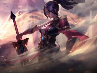 League Of Legends Warrior FanArt wallpaper