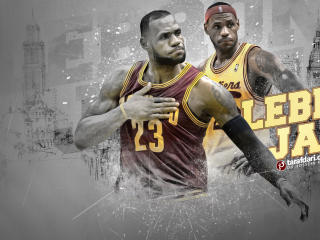 LeBron James Cleveland Cavaliers NBA wallpaper