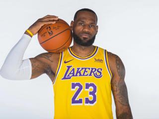 LeBron James Lakers New wallpaper