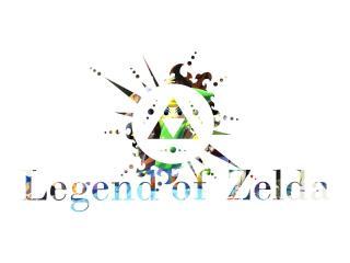 HD Wallpaper | Background Image legend of zelda, logo, game
