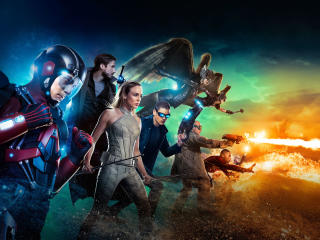 Legends Of Tomorrow DC wallpaper