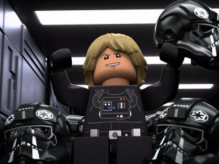 LEGO Star Wars Terrifying Tales New Movie 2021 wallpaper