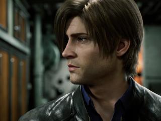 Leon Netflix Resident Evil wallpaper