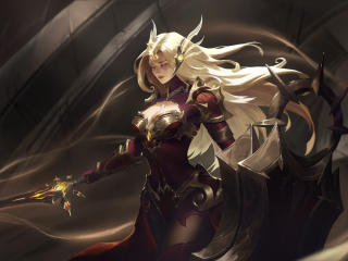 Leona in League of Legends wallpaper