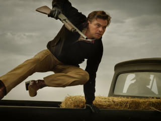 Leonardo DiCaprio in Once Upon a Time in Hollywood Movie image