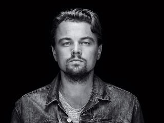 Leonardo Dicaprio Monochrome wallpaper