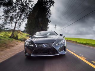 HD Wallpaper | Background Image Lexus LC 500h 2018 Front