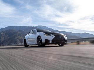 HD Wallpaper | Background Image Lexus RC F Track Edition