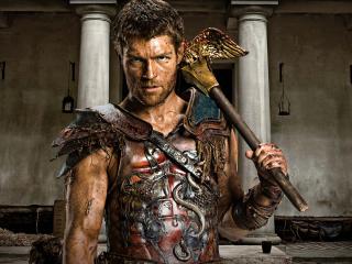 Liam McIntyre Spartacus wallpaper