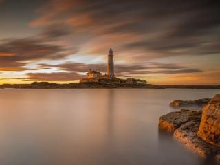 Lighthouse 4K Cool wallpaper