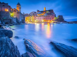 Liguria Vernazza Italy wallpaper