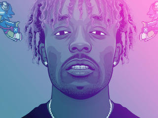 HD Wallpaper | Background Image Lil Uzi Vert Art