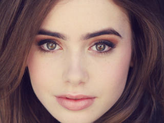 Lily Collins Images wallpaper