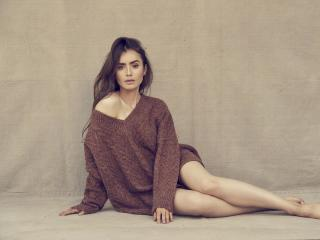 Lily Collins Photoshoot 2020 wallpaper