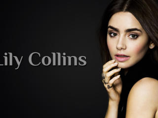 Lily Collins Poster Pic wallpaper