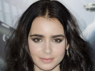 Lily Collins Smile Pic wallpaper