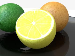 lime, lemon, orange wallpaper