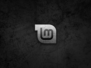 linux, linux mint, black wallpaper