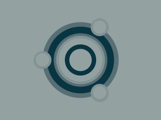 Linux Minimal Gray Logo wallpaper