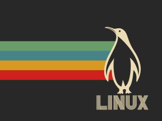 Linux Retro wallpaper