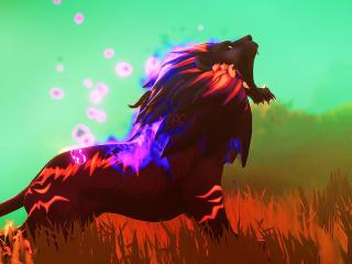 Lion Immortals Fenyx Rising wallpaper