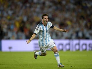 Lionel Messi 4k Celebration wallpaper