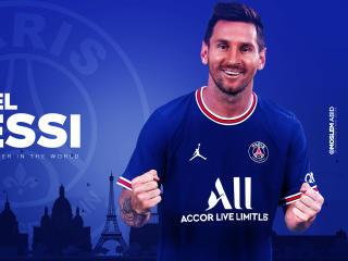 Lionel Messi HD Paris Saint-Germain wallpaper