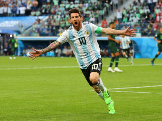 HD Wallpaper | Background Image Lionel Messi in FIFA 2018 World Cup