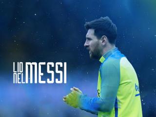 Lionel Messi Portrait wallpaper