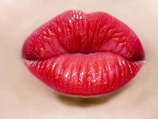 lips, girl, lipstick wallpaper