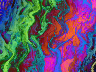 Liquid Rainbow Colour wallpaper