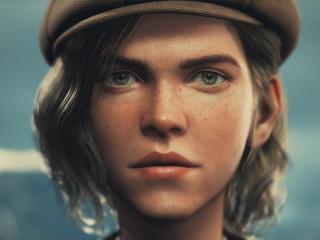 Lissie Draugen Game wallpaper