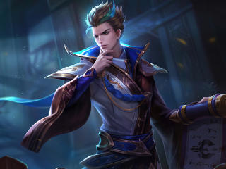 Liu Bang King of Glory wallpaper