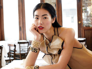 Liu Wen Chinese Supermodels wallpaper