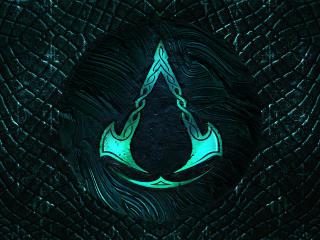 Logo of Assassin's Creed Valhalla wallpaper