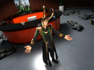 Loki 4K Fortnite wallpaper