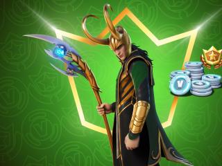 Loki Fortnite wallpaper