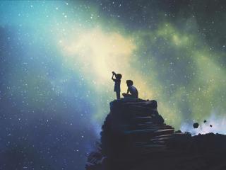 Looking At Stars image