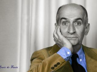 louis de funes, face, comedian wallpaper