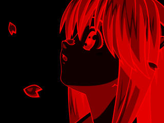Lucy Elfen Lied wallpaper