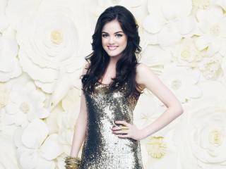 lucy hale, brunette, celebrity wallpaper