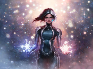 Luna Snow In Marvel Future Fight wallpaper