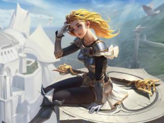 Lux In League Of Legends 4K wallpaper