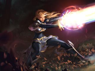 Lux in League Of Legends wallpaper