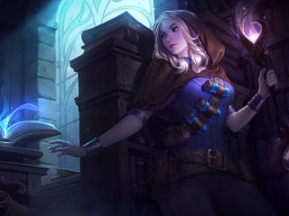 Lux Spellthief wallpaper
